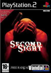 Portada oficial de Second Sight para PS2