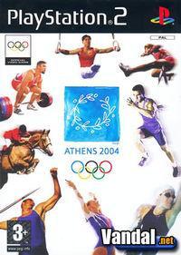 Portada oficial de Athens 2004 para PS2