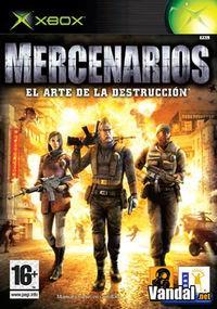 Portada oficial de Mercenarios para Xbox