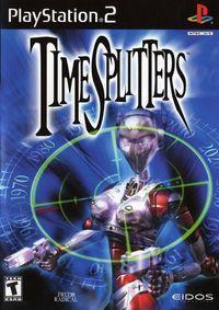 Portada oficial de TimeSplitters para PS2