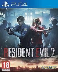 Portada oficial de Resident Evil 2 Remake para PS4