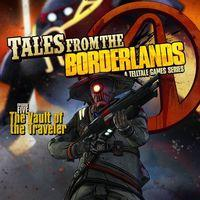 Portada oficial de Tales from the Borderlands - Episode 5: The Vault of the Traveler para PS4