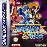 Portada oficial de Mega Man & Bass CV para Wii U