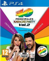 Portada oficial de Los 40 Principales Karaoke Party Vol.2 para PS4