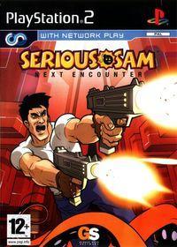 Portada oficial de Serious Sam: Next Encounter para PS2