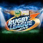 Portada oficial de de Rugby League Live 3 para PS4