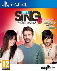 Portada oficial de Let's Sing 8 Versión Española para PS4