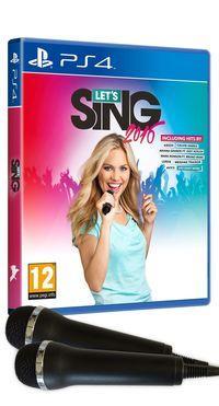 Portada oficial de Let's Sing 2016 para PS4