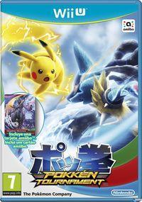 Portada oficial de Pokkén Tournament para Wii U