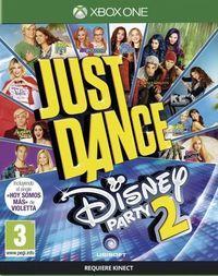 Portada oficial de Just Dance: Disney Party 2 para Xbox One