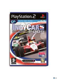 Portada oficial de IndyCar Series 2005 para PS2