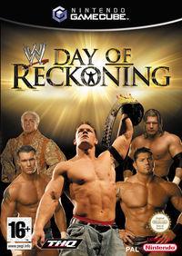 Portada oficial de WWE Day of Reckoning para GameCube