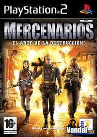 Portada oficial de Mercenarios para PS2