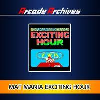 Portada oficial de Arcade Archives: Mat Mania Exciting Hour para PS4