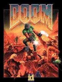 Portada oficial de Doom (1993) para PC