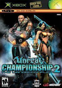 Portada oficial de Unreal Championship 2: The Liandri Conflict para Xbox