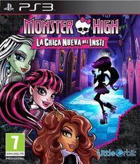 Portada oficial de Monster High: La Chica Nueva del Insti para PS3