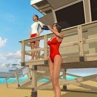 Portada oficial de Beach Lifeguard Rescue para Android