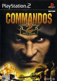 Portada oficial de Commandos 2 para PS2