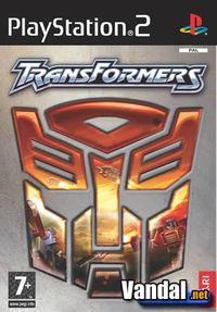 Portada oficial de Transformers para PS2