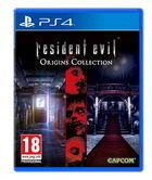 Portada oficial de de Resident Evil Origins Collection para PS4