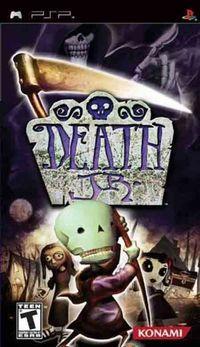Portada oficial de Death Jr para PSP