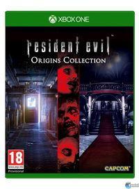 Portada oficial de Resident Evil Origins Collection para Xbox One