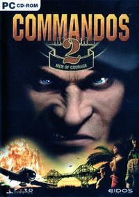 Portada oficial de Commandos 2: Men of Courage para PC