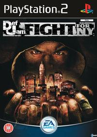 Portada oficial de Def Jam Fight For New York para PS2