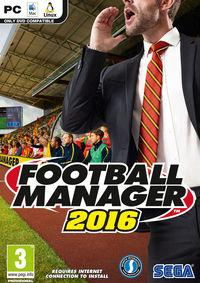 Portada oficial de Football Manager 2016 para PC