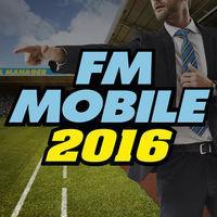 Portada oficial de Football Manager Mobile 2016 para iPhone