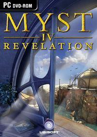 Portada oficial de Myst IV Revelation para PC