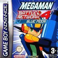 Portada oficial de Megaman Battle Network 4 Sun & Moon para Game Boy Advance