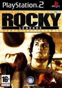 Portada oficial de Rocky Legends para PS2