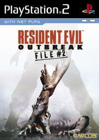 Portada oficial de Resident Evil Outbreak File 2 para PS2