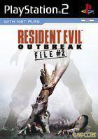 Portada oficial de de Resident Evil Outbreak File 2 para PS2