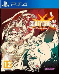 Portada oficial de Guilty Gear Xrd -Revelator- para PS4