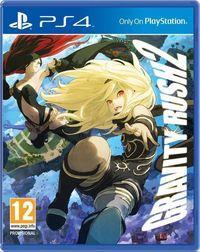 Portada oficial de Gravity Rush 2 para PS4