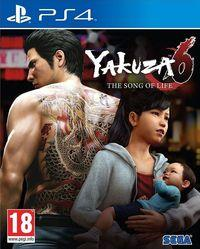 Portada oficial de Yakuza 6: The Song of Life para PS4
