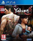Portada oficial de de Yakuza 6: The Song of Life para PS4