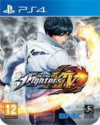 Portada oficial de de The King of Fighters XIV para PS4