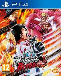Portada oficial de One Piece: Burning Blood para PS4