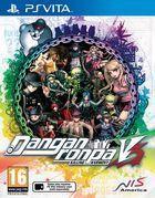 Portada oficial de de Danganronpa V3: Killing Harmony para PSVITA