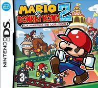 Portada oficial de Mario vs. Donkey Kong 2: La Marcha de los Minis CV para Wii U