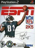 Portada oficial de de ESPN NFL 2005 para PS2