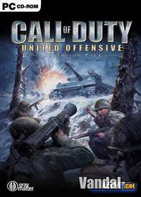 Portada oficial de Call of Duty : La Gran Ofensiva para PC