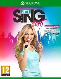 Portada oficial de Let's Sing 2016 para Xbox One