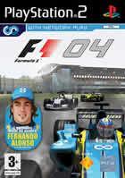 Portada oficial de de Formula One 2004 para PS2