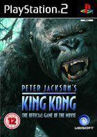 Portada oficial de de King Kong para PS2