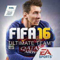 Portada oficial de FIFA 16: Ultimate Team para iPhone